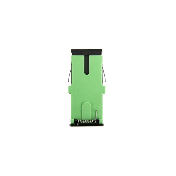 SC-Simplex-Green-Adapter-with-shutter-1