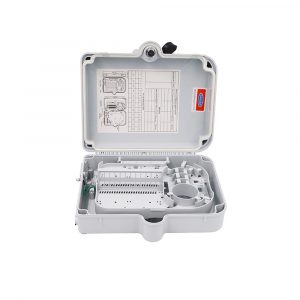12 port Fiber Terminal Box for Mini PLC Splitter Outdoor Optical Distribution Wall Mount Box