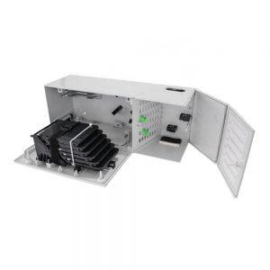 48 port FTTH MODB multi operator fiber optical distribution cabinet box with 1x16 PLC Splitters