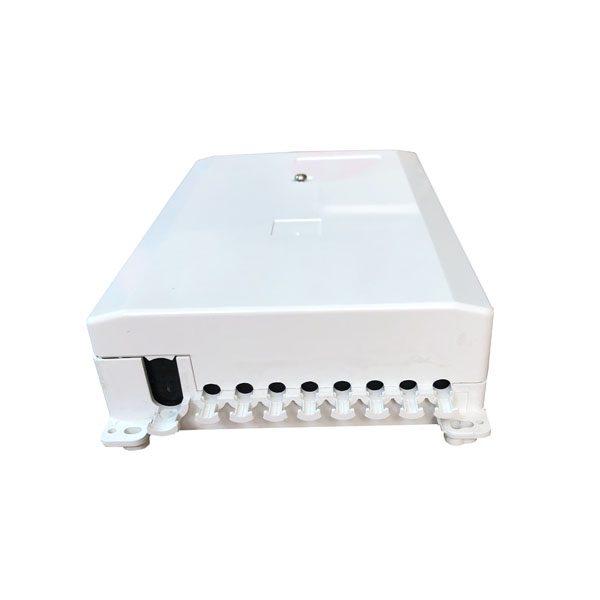 8 core optical fiber distribution splitter termination box indoor wall mounted