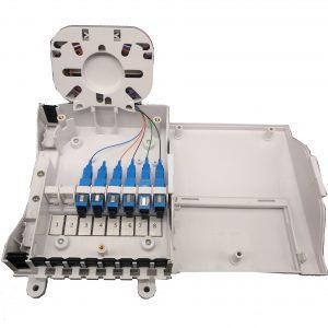 8 core optical terminal box FTTH Fiber Optic Termination Box