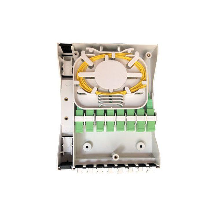 8 ports fiber optic terminal box with SCAPC adapter distribution box
