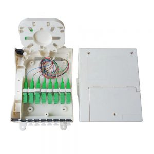 8 ports fiber optic terminal box with SCAPC adapter distribution box