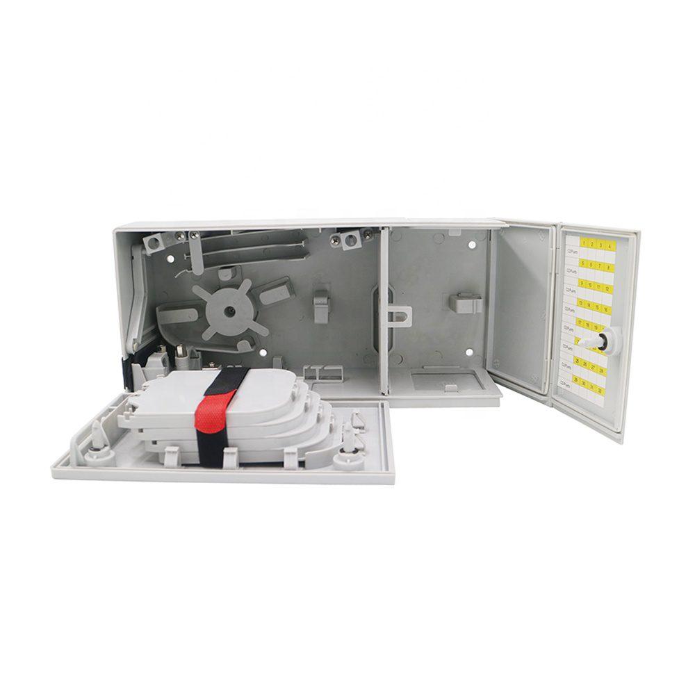 Caja de terminales de fibra optica FTTH 32core para exteriores Multi-operator Distribution Cabinet Box