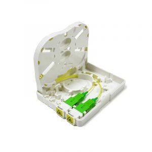 FTTH 1 2 port fiber termination box splice box Vodafone fiber optic small box
