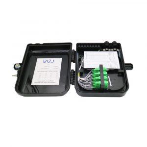 FTTH 16 core CTO Fibre Optic Distribution Box for Mini PLC Splitter