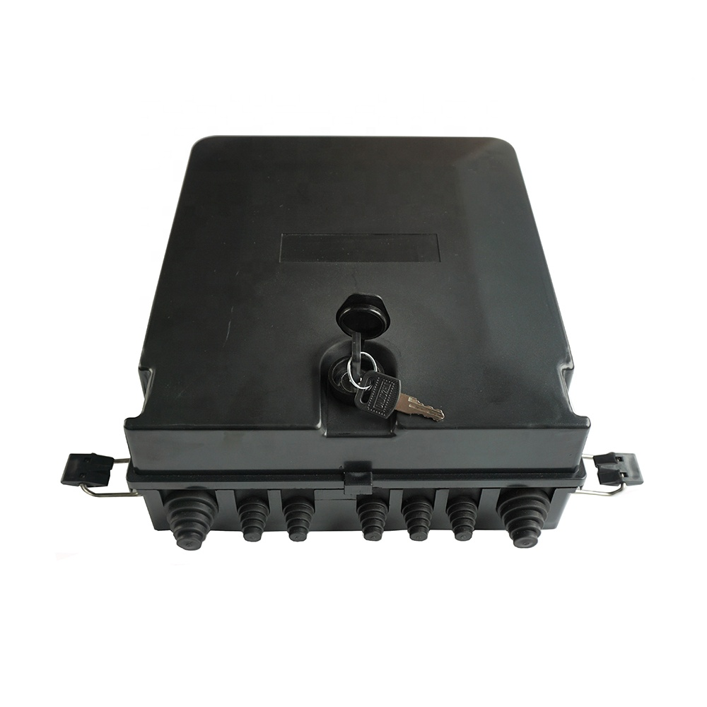 FTTH Outdoor 48 Core fiber optic terminal box 48 Core optical fiber splice box
