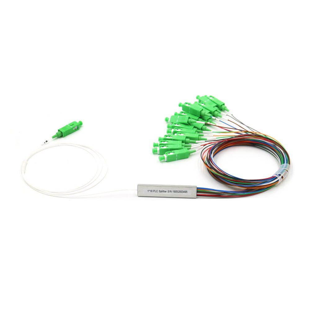 FTTH Solution 1x16 SCAPC Mini Tube Type Optical Spitter PLC Homologado ANATEL
