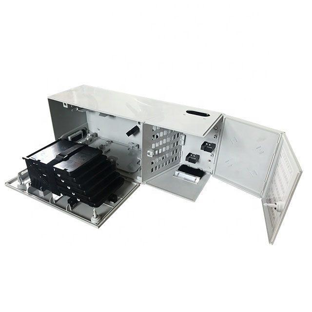 FTTH outdoor small box IP65 PC 48 cores fiber optic terminal box-1