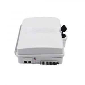 Fiber Telecom Terminal Box 24 core for Mini PLC Splitter Indoor Optical Distribution Box
