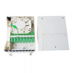 Fiber optic splitter box 8 port terminal box with SCAPC adapter