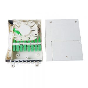 Fiber optic terminal box 8 ports optical termination box