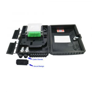 High Quality Outdoor Junction Box 16 core FTTH Fiber Optic Access Terminal Box