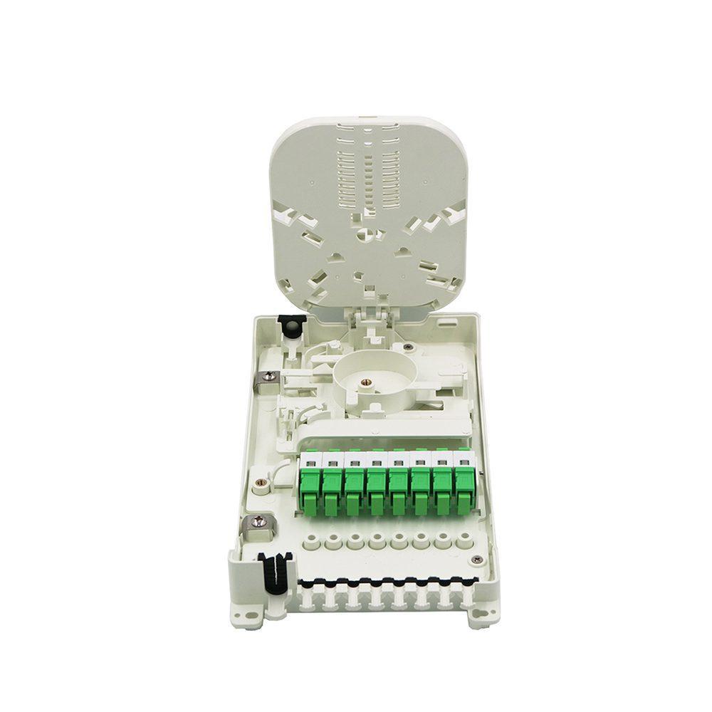 Hot sale in Spain market wall mount fiber optical splice box