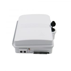 Outdoor 24 port Terminal Box for LGX Splitter PLC Fiber CTO Box Wall Mount Optical Joint Box
