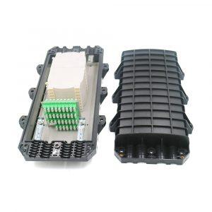 192 Core LC APC Joint Box Optical Fiber Cable Splice Closure