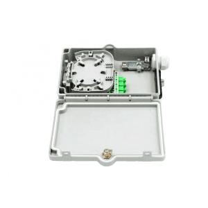 4 port Outdoor Optical fiber splitter distribution box