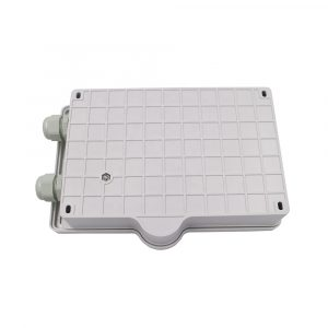 FTTH 2 4 core fiber optical terminal box with wall mounting accessories