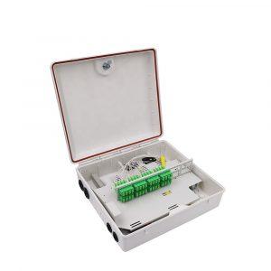 FTTH 48 Core Fiber Access Terminal Box Fiber Optic Distribution Box splitter box