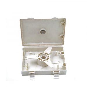 Fiber optic cable coiling box fiber optic enclosure