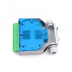Hot Selling in European market 12 core DIN Rail Fiber Optic Enclosure Box splice box