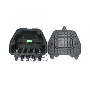 Hub Box with Mini SC Adapter Waterproof Optitap Adapter FTTH Tewrminal Box Wall Mount