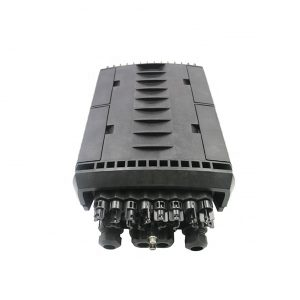 IP68 Fiber Splice Closure 96 core FTTH Closure with H Connector Adapter Joint Closure