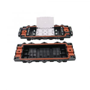 Inline type joint box Fiber Optic Splice Closure 96 core fiber optic junction box fiber optic joint closure