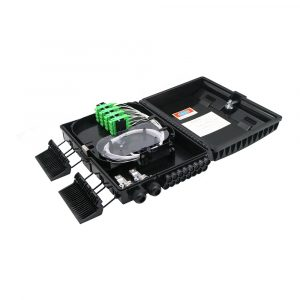 Wall Pole Mount Fiber Optic Terminal Distribution 16 core CTO box