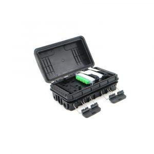 Waterproof Inline Juction Box Fiber Optic Distribution Box Splice Closure