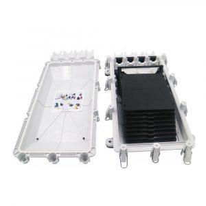FTTH Enclosure 256 Core Fiber Optic Splice Closure Cajas Mondragon de 256 fibras