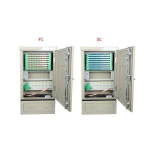 FTTH 96 core optical fiber ftth distribution cabinet hub SMC optic fiber distribution cross connection ODF DDF cabinet