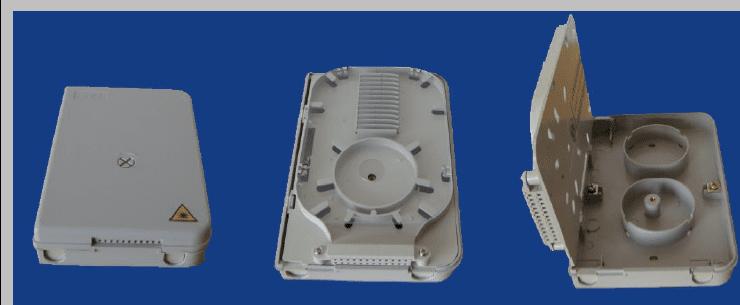 Fiber optic Termination Box  of 24 Drop cables