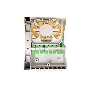 Indoor FTTH 48 Core Terminal Box Optical Distribution Box Mini Caja de Distribucion Caja Terminal de Fibra Optica