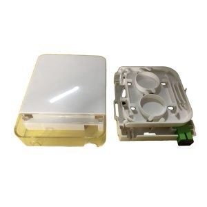1 Port SC LC Fiber Optic terminal box with SC simplex adapter for FTTH