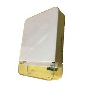 1 port sc fiber terminal box fiber optic socket with transparent cover
