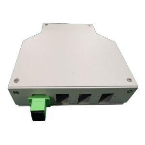 12 ports Sliding Fiber Optic Patch Panel ODF Fiber Panel SC LC FC ST Rack Mounted Distribution Box