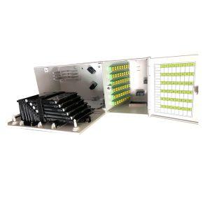 48 Core Wall Mount Multi-operator Fiber Optical Distribution Cabinet Fiber Optic Hub Box