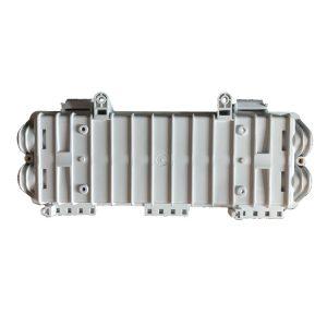 FTTH 128 cores fiber optic box enclosure in line splice closure fiber optic joint closures outdoor horizontal closure