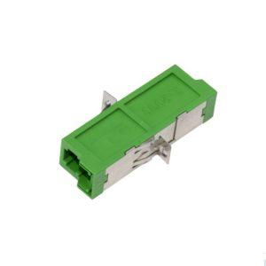 FTTH E2000/APC to E2000/APC Simplex Singlemode Fiber Optic Adapter