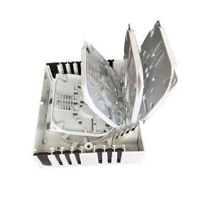 FTTH Indoor 48 core fiber optical splice closure box
