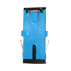 FTTH Shutter SC Adapter, One-piece body SC Shutter Fiber Adapter