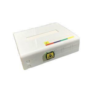 France 4 Core Fiber Optic Termination Box Prise Terminale Optique (PTO 4FO)