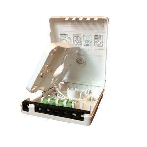 Indoor 6 port fibre optic junction box