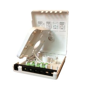 Indoor Mini Fiber Optic Distribution Box 6 Ways Optical Terminal Box Caja de Distrbucion Caja Terminal Fibra Optica Nap Nat