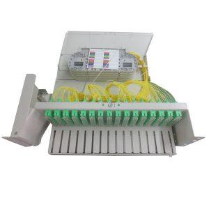 MOF144-3U 19inch modular swivel drawer 3U 144FO SCAPC G657A2 left opening