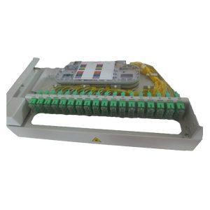 MOF72-1U 19inch swing out fiber optic patch panel