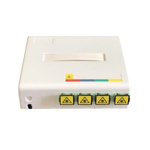 Manufacturing High Quality fibra optica FWO-4 Fiber face plate and Wall Outlet fiber optic 2 4 port ftth wall terminal
