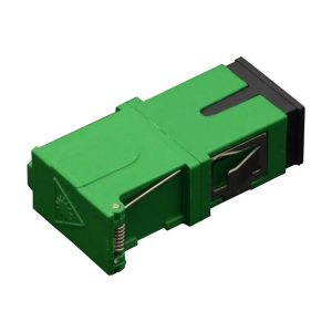 Simplex SC/APC fiber optic Adapter Coupler with side shutter