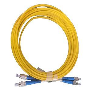 Short boot Duplex FCUPC-FCUPC Single mode Fiber Optic Patch cord Fiber Jumper
